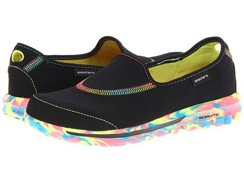 SKECHERS Performance GOWalk - Wavelength Black - Zappos.com Free Shipping  BOTH Ways