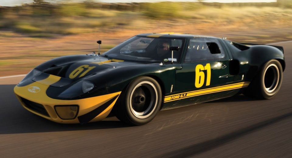 Rare Road-Legal 1966 Ford GT40 Mk1 May Fetch Over $4 Million