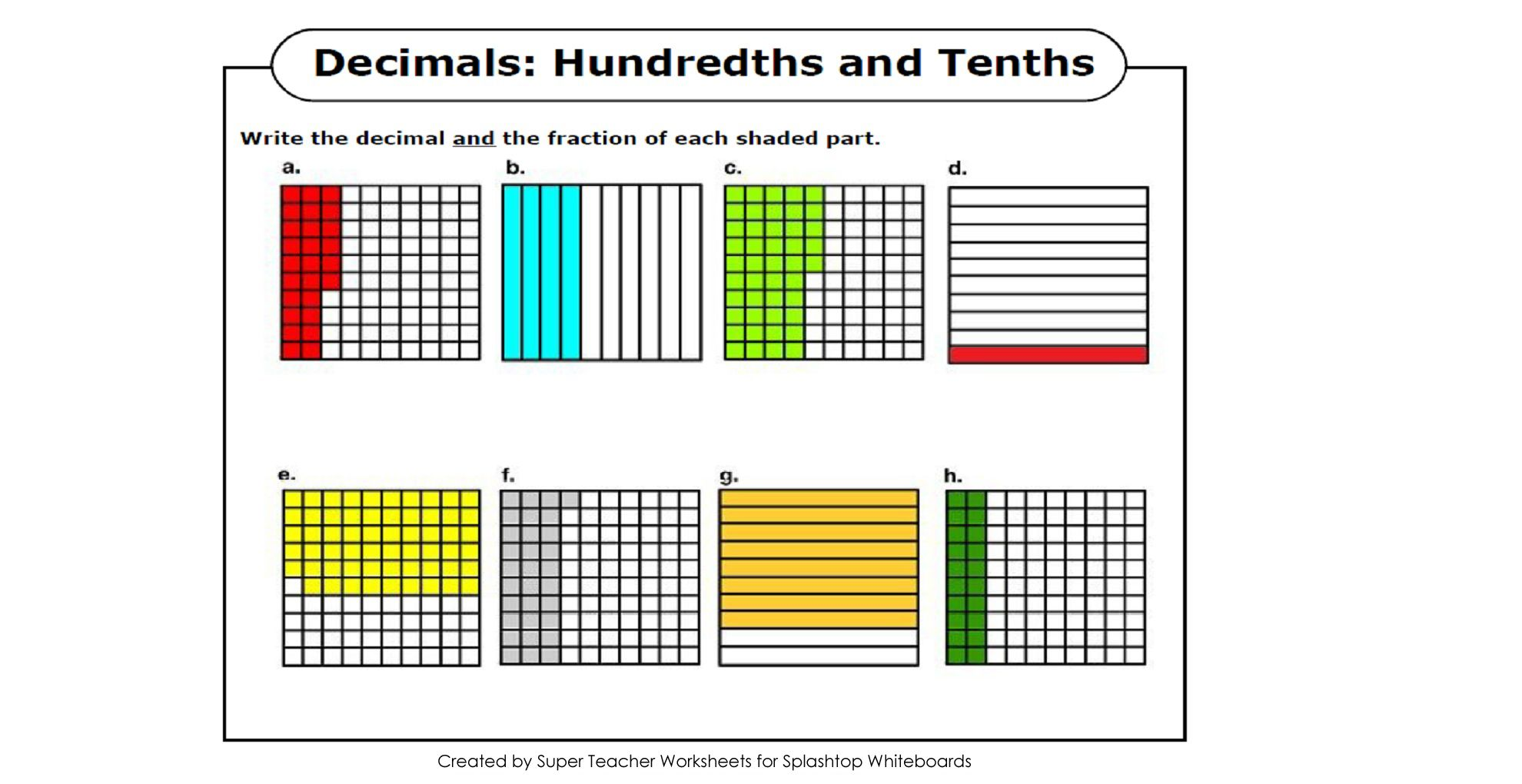 Math Lesson 1 2 Tenths And Hundredths Lessons Tes Teach Math Lessons Super Teacher Worksheets Lesson [ 1020 x 1980 Pixel ]