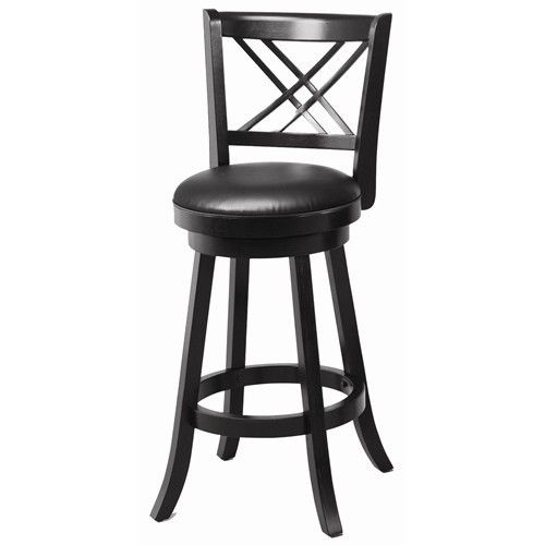 "29"""" Swivel Bar Stool with Upholstered Seat"