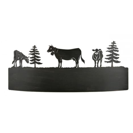 Applique Vache Métal Patiné 43 Cm Auchanfr 159euros