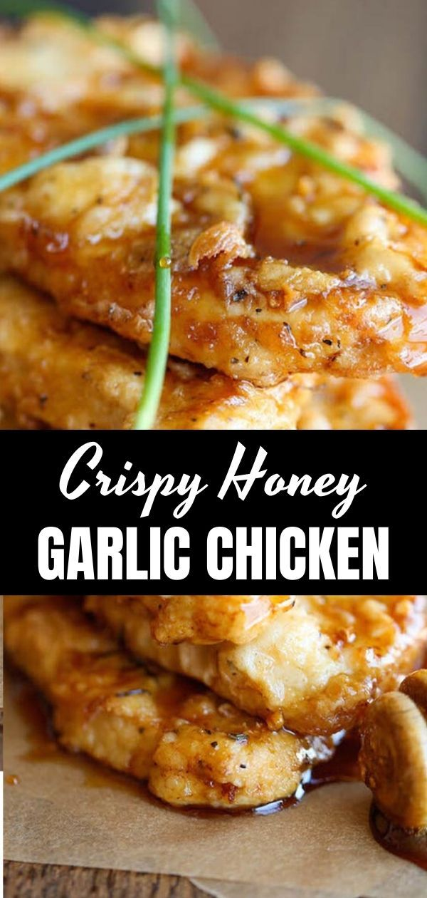 The most amazing amazing crispy chicken in the world with garlic and honey sauce. Wow, you really want to use this spice for all occasions!