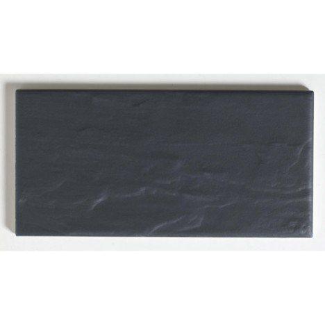 Leroy Merlin Astuce Ardoise Faience Mur Noir Mat L 10 X L 20 Cm 22 95 M2 Carrelage Mural Mur Noir Ardoise