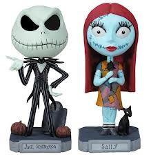 Jack & Sally Bobble heads!