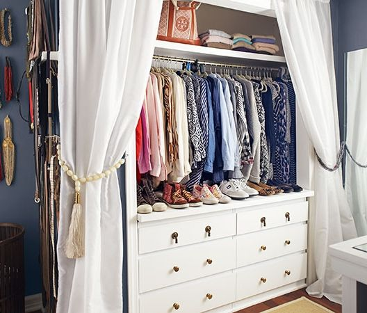 Walk Ins Welcome For His And Hers Closets Master Bedroom Closet No Closet Solutions Dresser In Closet