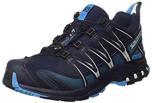 Mens Salomon Xa Pro 3D Gtx Trail Running Shoes Navy
