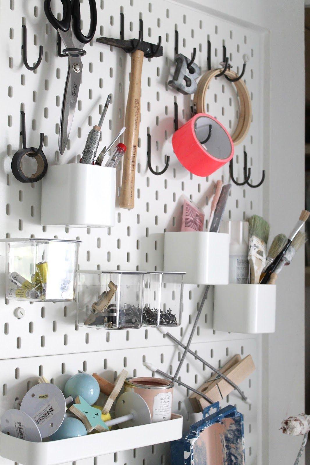 So Jetzt Mal Hand Auf S Herz Madels Die Ganzen Heimwerkerinnen Unter Euch Wie Bewahrt Ihr Eure Utensilien Wie Hammer Heimwerken Ikea Ideen Ikea Wandboard