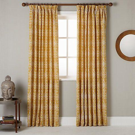 buy john lewis saigon lined pencil pleat curtains online. Black Bedroom Furniture Sets. Home Design Ideas