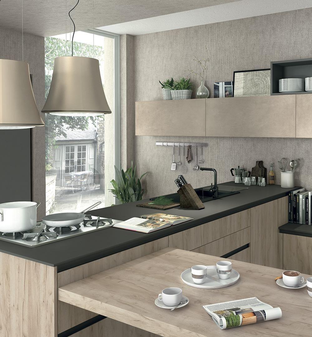 Immagina Lux - Cucine Lube | Interni della cucina, Design ...