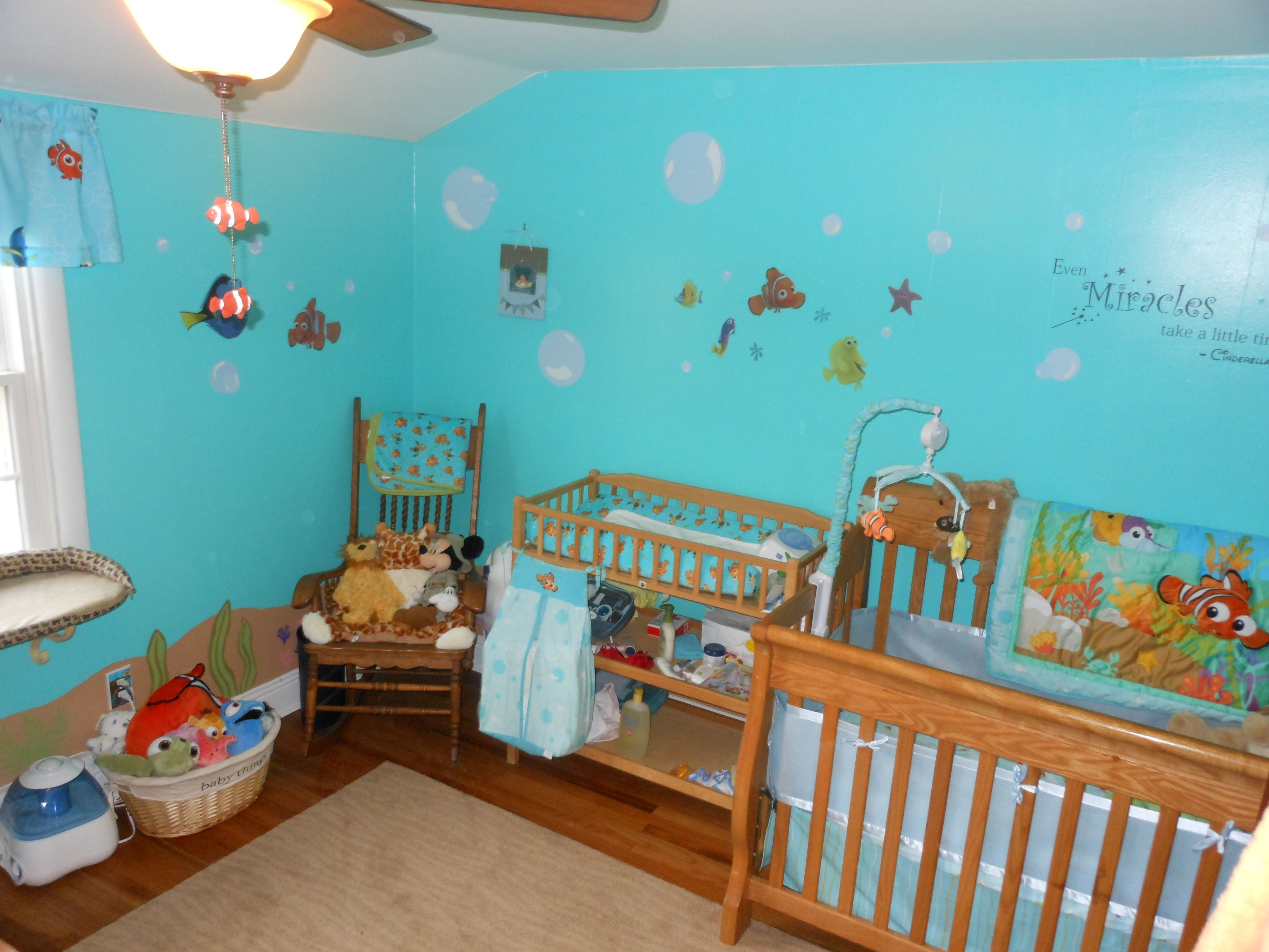 This Is Our Finding Nemo Nursery We Used Valspar Bayside