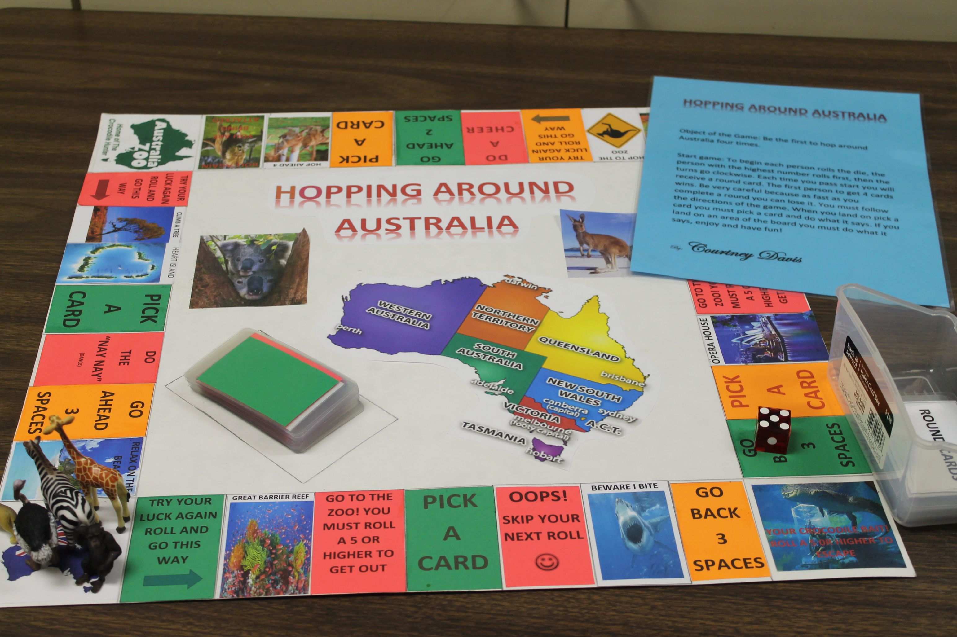 Australia Board Games Board Games School Projects