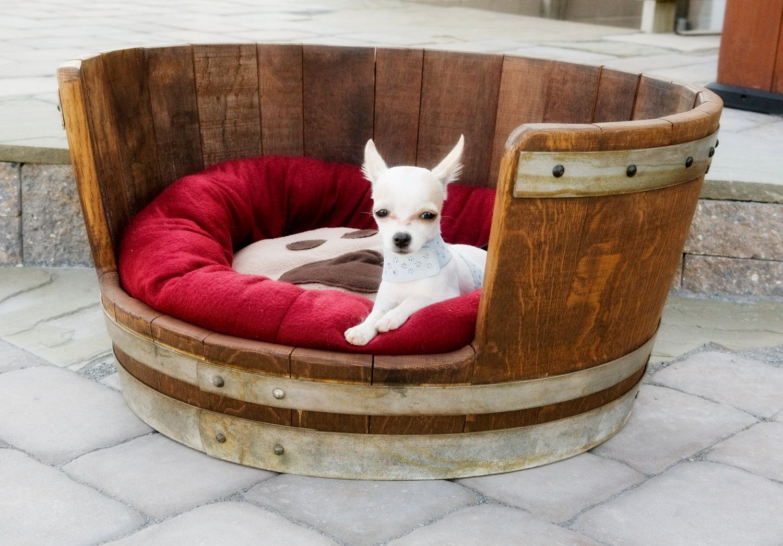 Eski Kazaktan Köpek Yatağı Yapımı