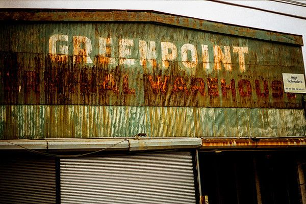 Greenpoint Terminal Warehouse. Kodak Portra 400, Leica M3, Leica Summicron DR 50mm f/2. © Jim Fisher