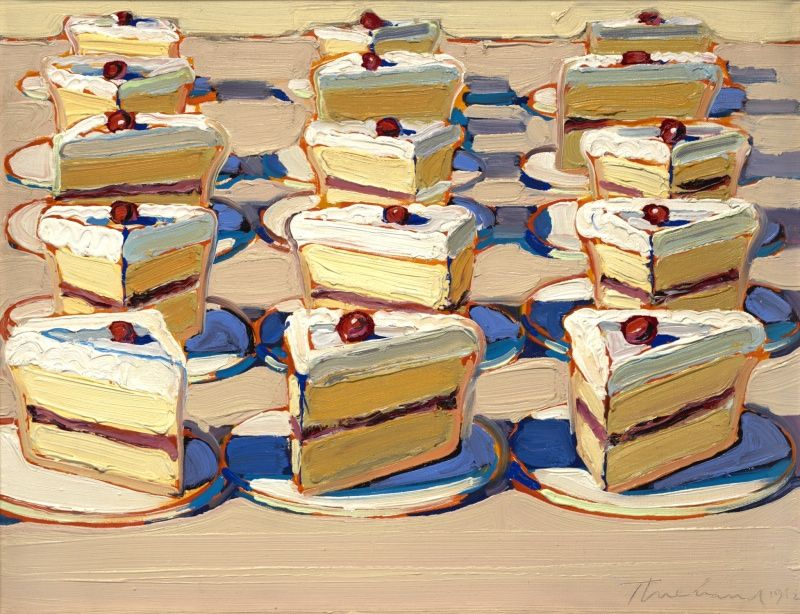 Paintings by Wayne Thiebaud Wayne thiebaud, Amazing ...
