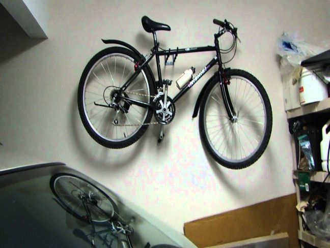 wall bike racks for garage bike rack