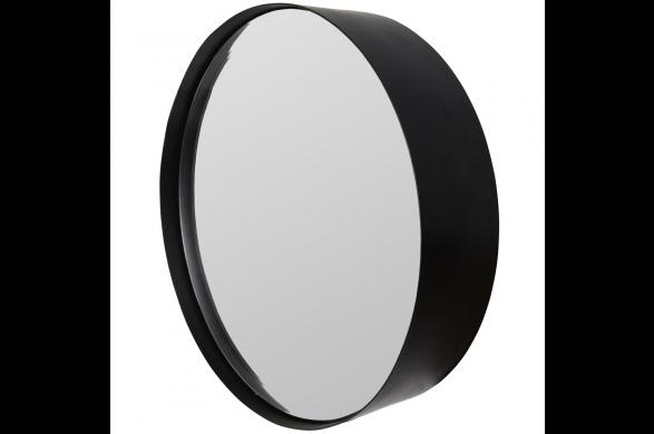 Zwarte Ronde Spiegel : Trendhopper ○ deze zwarte ronde spiegel is er in drie