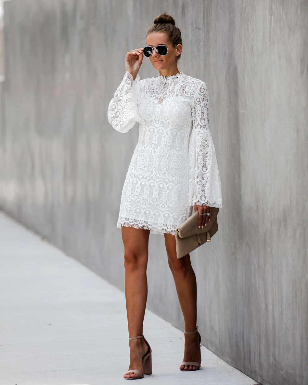 42+ Bell sleeve dress ideas
