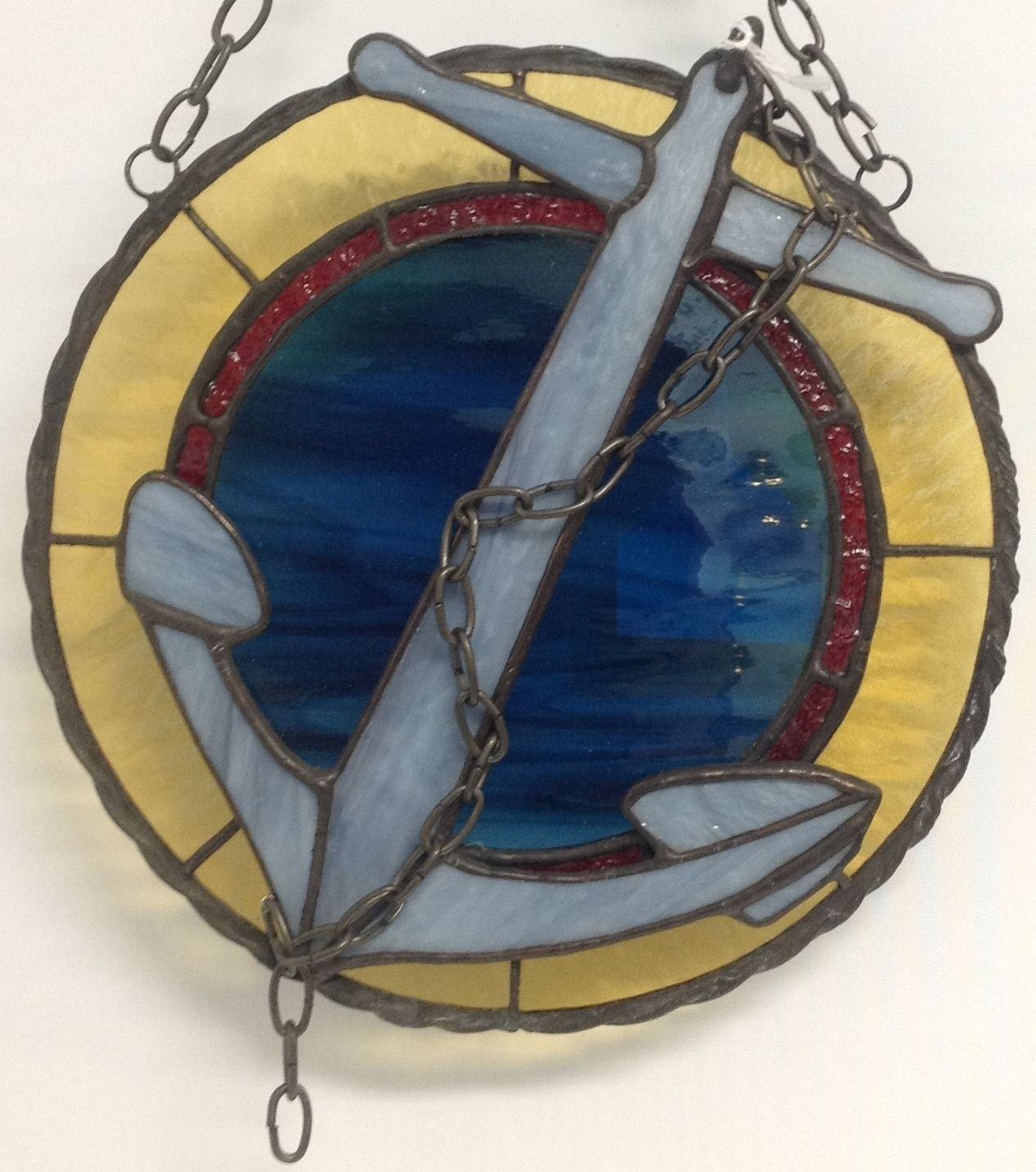 Anchor emblem inspiration kit stained glass art sea