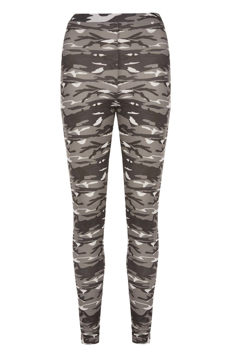 135c27df50 Primark - Grey Camo Workout Legging | Shopping | Workout leggings ...