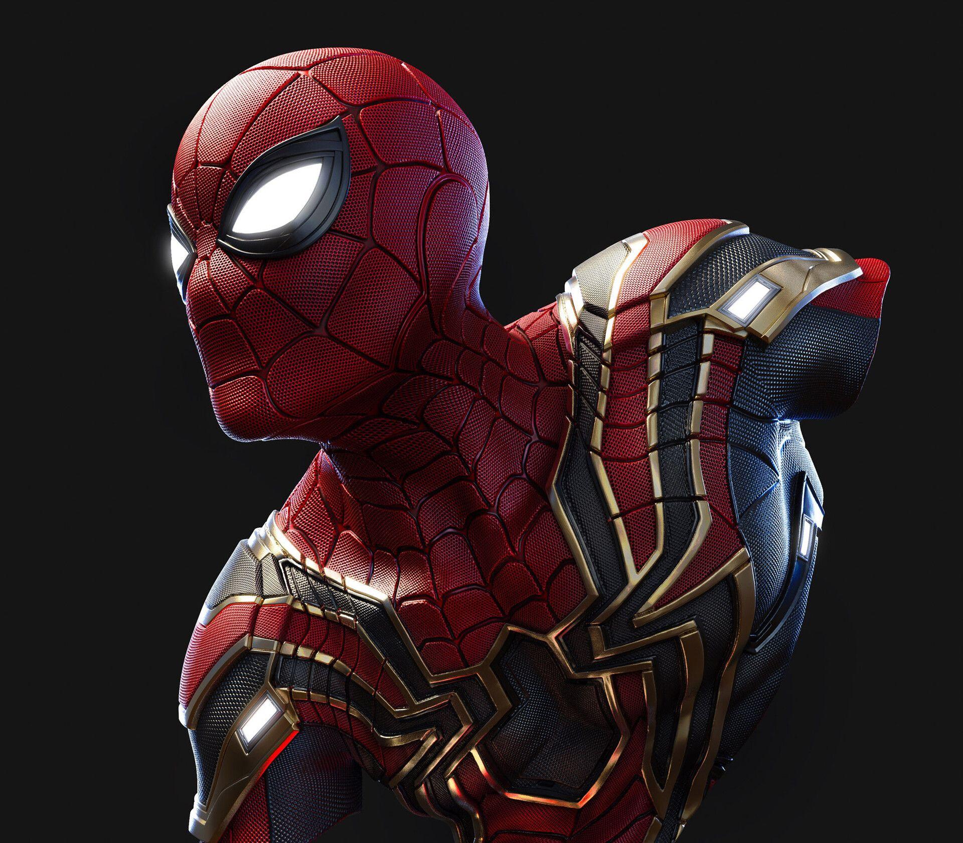 Artstation Iron Spider Man Smile Z Spiderman Iron Spider Iron Spider Suit