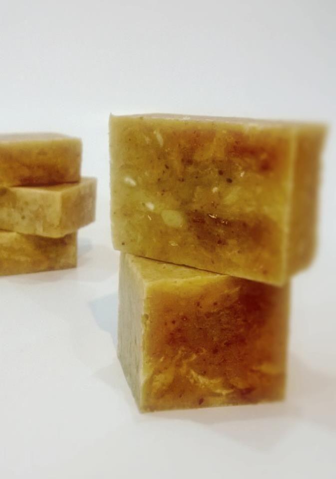 Honey & Oatmeal Soap | Homemade Beauty | Oatmeal soap