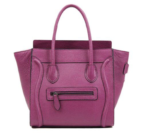 Bagqueen 100% Genuine Leather Smile Handbags Smile Face Handbags Satchel Tote Handbags Purse for Women (Purple) Handbag manufactory,http://www.amazon.com/dp/B00G1KZP6W/ref=cm_sw_r_pi_dp_saAFsb14TM1G4WWW
