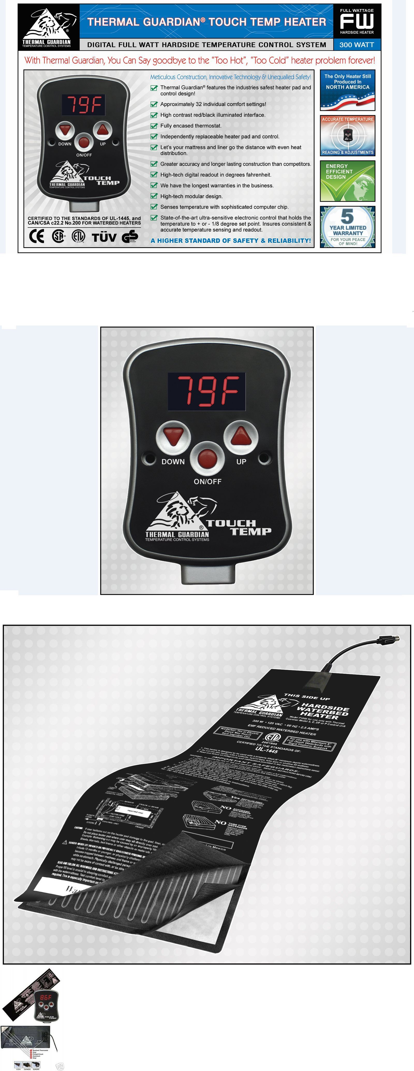 DIGITAL HARDSIDE WATERBED HEATER for KING Size FAST SHIPPING!