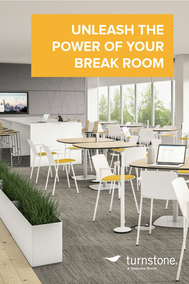 Unleash the power of your break room break room and for Office lunch room design ideas
