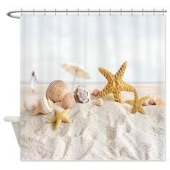 Beach Scene Shower Curtain Curtains Store