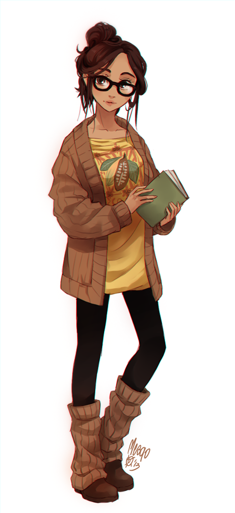 cocoa fullbody by `meago on deviantART Part of a cute