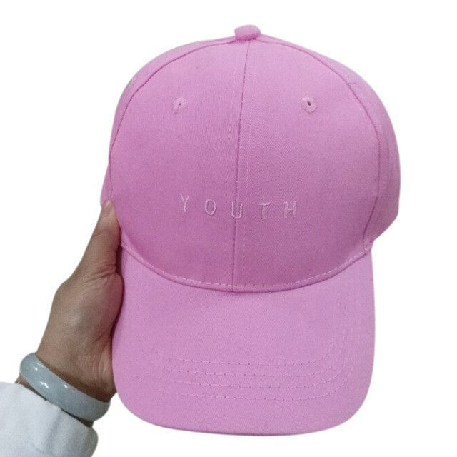 dd0f01323c6d1 Summer Spring 2016 New Fashion Adult baseball Cap Cotton Caps Women Youth  Letter Solid Cap Women
