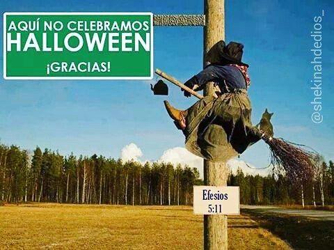 No al Halloween.  #shekinahdeDios #cristianos #jesús #dios #santo #cristo #santiagord #labiblia #cristianos #cristovive #cristoviene #cristovienepronto #solocristosalva #diosesbueno #diosesamor #estadosunidos #panama #brasil #mexico #brasil #mexico #mundo #china #india #españa #colombia #chile #canada #puertorico #japon #australia #halloween #vida