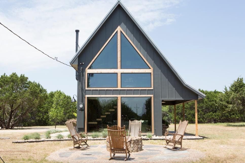 Fixer Upper: A Modern Cabin in the Country for Jimmy Don & Son