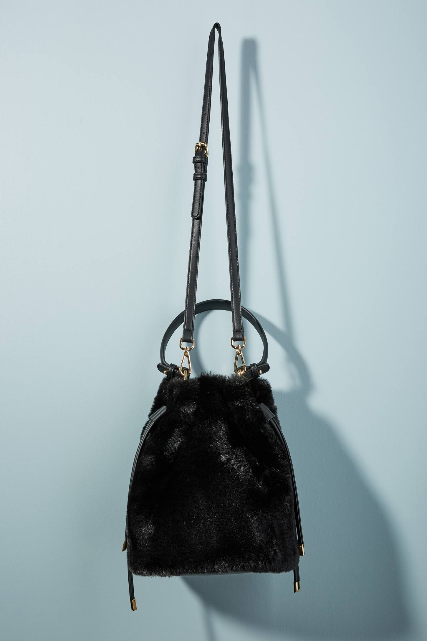 Shop the Faux Fur Crossbody Bucket Bag and more Anthropologie at Anthropologie  today. Read customer 758e1cc758da6