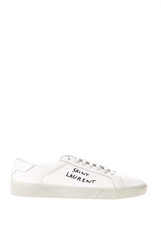 25341d25f SAINT LAURENT SAINT LAURENT COURT CLASSIC SNEAKERS. #saintlaurent #shoes