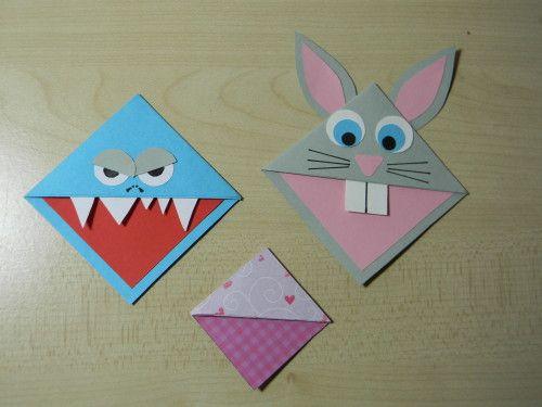 origami rigolo facile