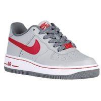 prendre plaisir prix incroyable Nike Air Force 1 Gris Faible Et Rouge meilleur achat prix discount réductions FglUrhBh3P
