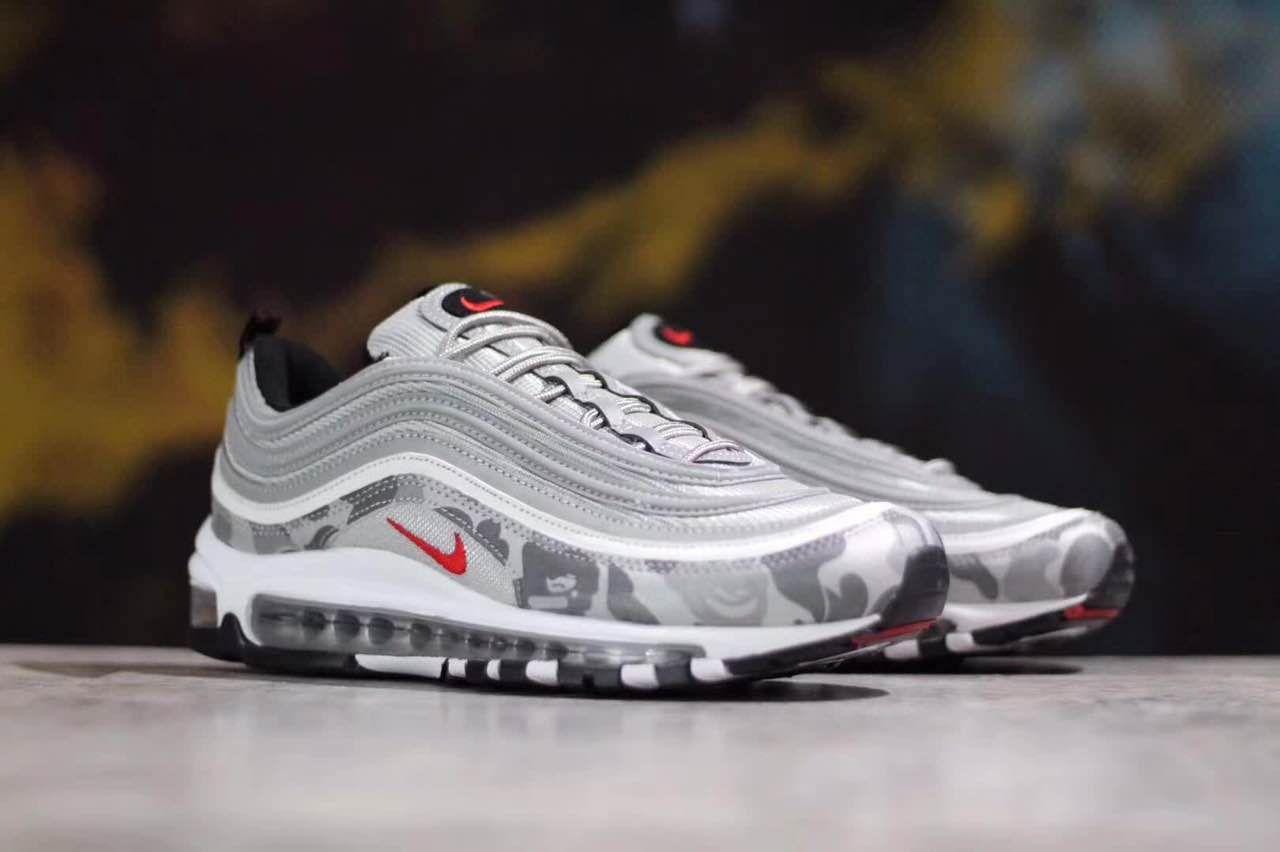 best loved 92bae b1673 nike sko svart og hvit Air Max 97 Ultra 17 fra Nike Sportswear. Air-