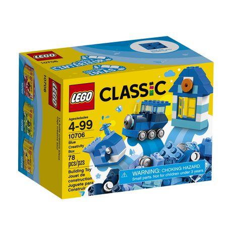 Lego Classic Blue Creativity Box (10706)