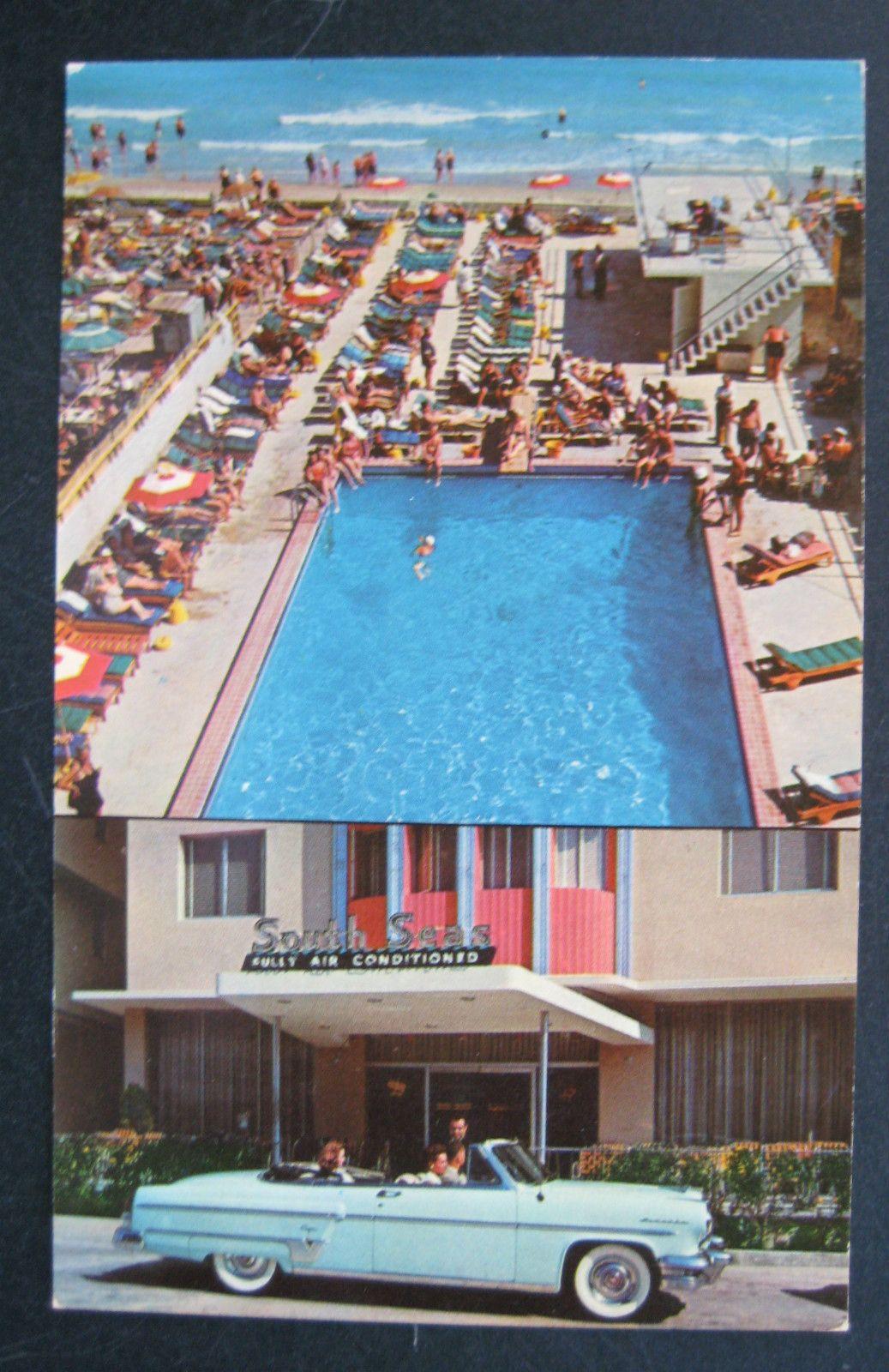 FL Miami Beach South Seas Hotel Swimming Pool Cabana Club
