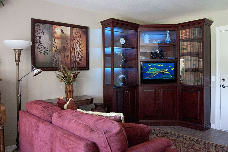 Built In Cabinet Corners Custom Corner Wall Unit Houses Flat Panel