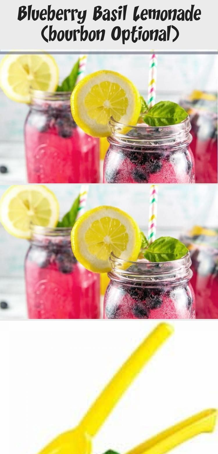 Blueberry Basil Lemonade (bourbon Optional) #basillemonade Blueberry Basil Lemonade: Celebrate the best parts of summer with sparkly freshly squeezed blueberry basil lemonade (cocktail or mocktail) - made from easy homemade lemonade and fresh summer produce. It's the perfect made ahead party drink for summer! #bunsenburnerbakery #recipe #drink #lemonade #cocktail #bourbon #FoodandDrinkAlcohol #basillemonade Blueberry Basil Lemonade (bourbon Optional) #basillemonade Blueberry Basil Lemonade: Ce #basillemonade