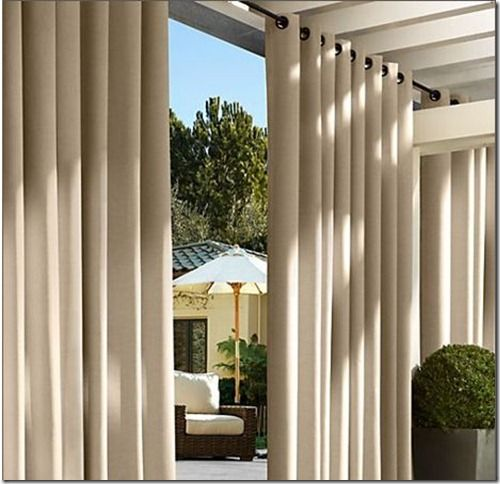 Curtains Drapes Sliding Glass Door. Thinking This For Out Sunroom.  Curtains For Sliding Glass Doors