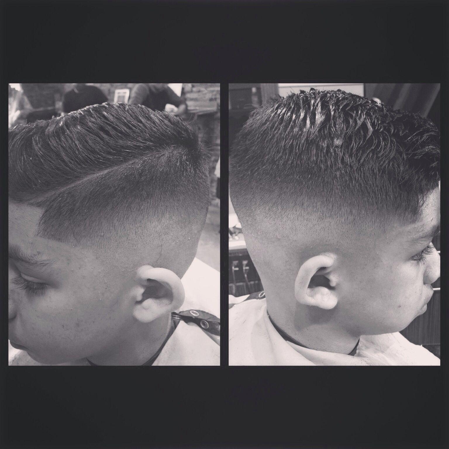 Skin fadecomb over hair cuts pinterest haircuts kid haircuts