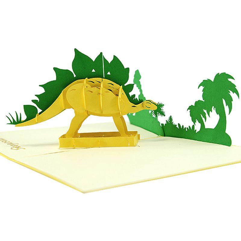 Stegosaurus Pop Up Card Dinosaur Pop Up Card Pop Up Birthday Card Pop Up Card Manufacturer Pop Up Card La Cards Birthday Cards Card Design