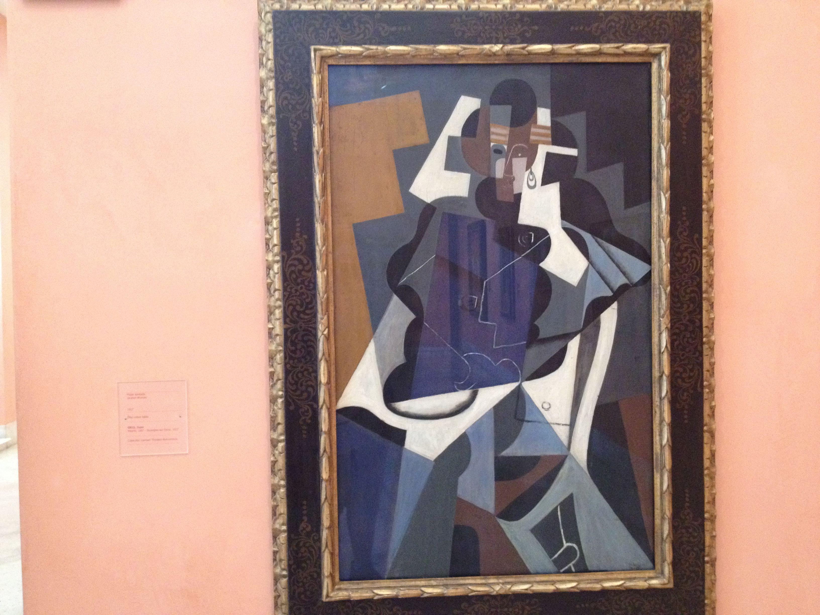 Juan Gris Spanish painters, Painting lessons, Art school