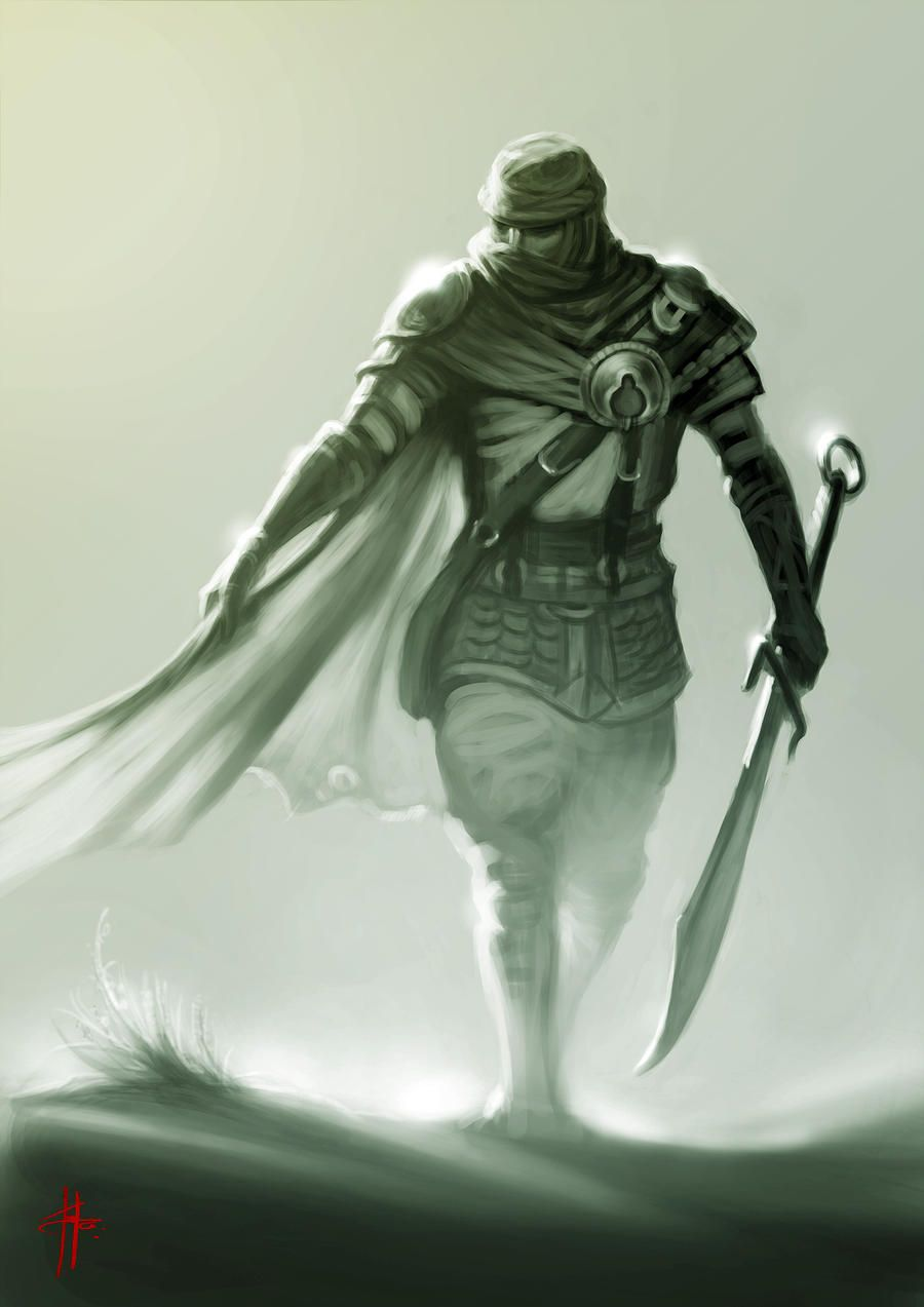 Desert Warrior By Mrtomlong On Deviantart In 2019 Fantasy