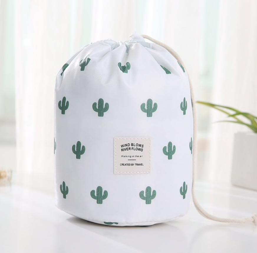 Wasserdichter Make-up-Beutel und Tasche – Kaktus