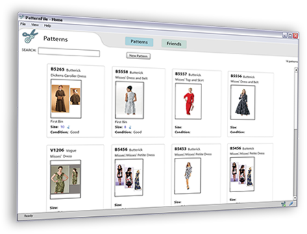 PatternFile - Sewing Pattern Organization, Inventory and Database ...