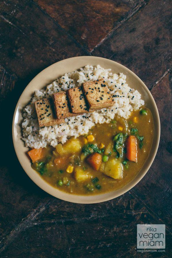 Vegan Japanese Curry By Vegan Miam Vegan Japanese Curry Recipe Vegan Recipes Japanese Curry